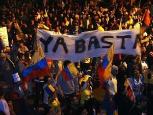 """Rebelión de """"Los Forajidos"""": """"¡Ya Basta, que se vayan todos!"""""""